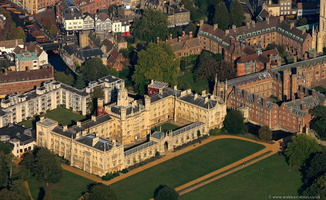 St John's College, Cambridge  Cambridge University from the air