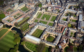 Trinity College, Cambridge from the air