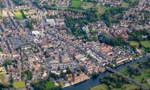 Saint Neots from the air