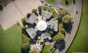 Priory Junior School St Neots  from the air