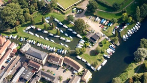 St Neots Marina , St. Neots  from the air