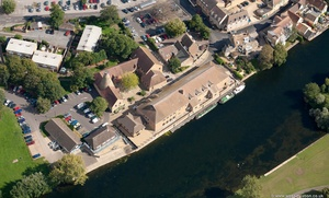 malthouse  St. Neots  from the air