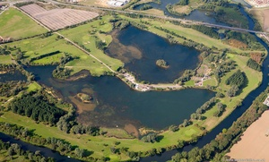 Wyboston Lakes Saint Neots  from the air