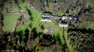 Adlington Hall Cheshire  aerial photo