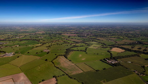 The Cheshire Plain from the air