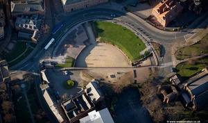 Chester Roman Amphitheatre from the air