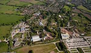 Chester Zoo from the air