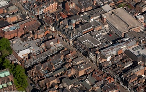 Eastgate St, Chester   from the air