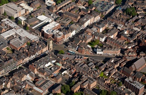 Lower Bridge St Chester from the air
