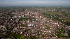 Chester from the air