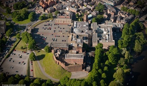 Chester Castle from the air