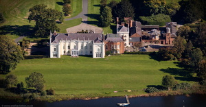 Combermere Abbey from the air