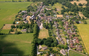 Great Budworth Cheshire   aerial photo