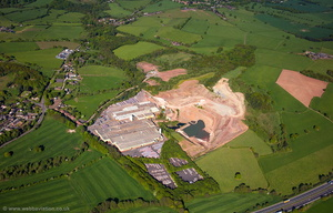 Marley Eternit Ltd Keele Work aerial photograph