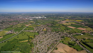 Shavington Cheshire  aerial photo