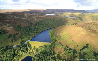 Brushes Reservoir aerial photograph