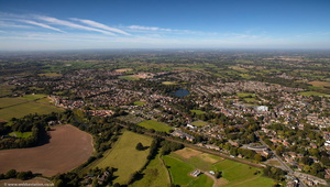 Alsager Cheshire from the air