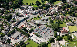 Alsager aerial photo