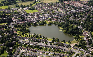 Alsager Cheshire  aerial photo