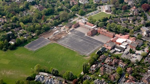 Altrincham Grammar School  from the air