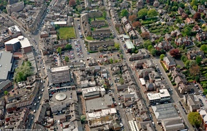 Regent Rd Altrincham WA14  from the air
