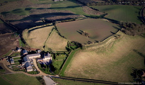 Eddisbury hill fort  from the air