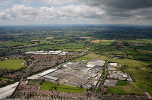 Bentley Factory Crewe Cheshire