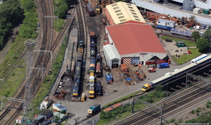 Crewe Heritage Centre from the air