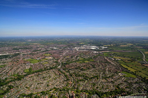 Crewe, Cheshire from the air