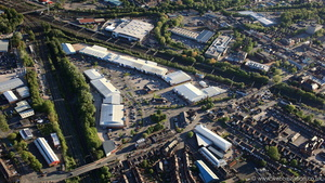 Grand Junction Retail Park Crewe from the air