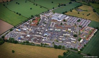 Leighton Hospital Crewe    aerial photograph