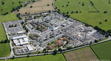 Leighton Hospital Crewe from the air