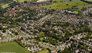 Culcheth  from the air