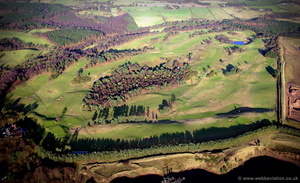 Delamere Forest Golf Club aerial photograph