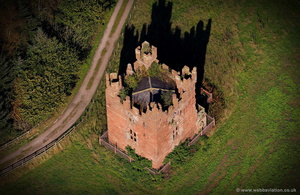 Doddington Castle  aerial photograph