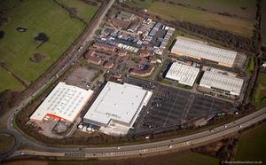 Dunkirk Trading Estate aerial photo