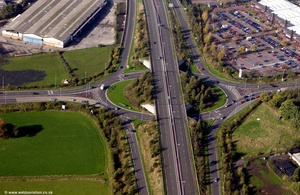 Handforth Cheshire aerial photograph