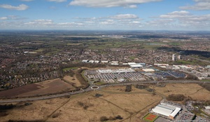 Handforth Dean Cheshire aerial photograph