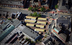 Hyde Market aerial photograph