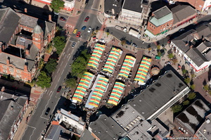 Hyde  Cheshire aerial photograph