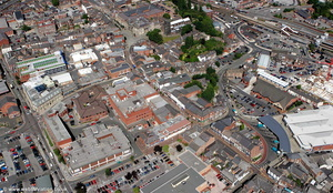 Macclesfield aerial photograph