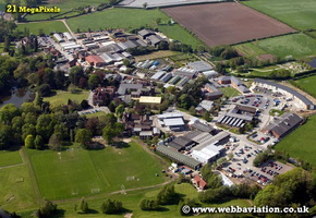 Reaseheath College  Nantwich Cheshire aerial photograph