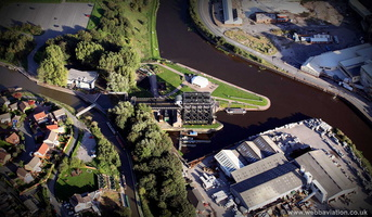 Anderton Boat Lift  aerial photograph