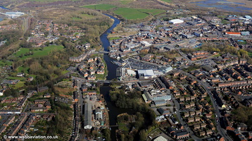 Northwich  aerial photograph