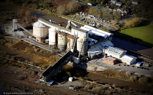 Wallerscote Chemical Works Wallerscote Island Northwich aerial photograph