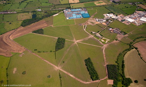 RAF Calveley  aerial photo