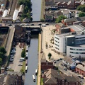 Sale Cheshire aerial photograph