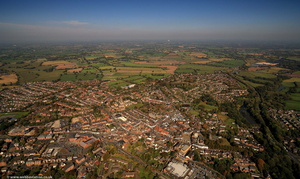Sandbach from the air