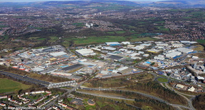 Bredbury Park Industrial Estate aerial photograph