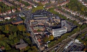 Cheadle Hulme Stockport  SK8  from the air